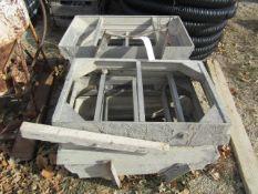 (6) Window Box Precise Concrete Forms, Located in Winterset, IA