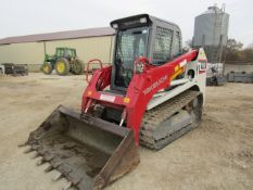 """2016 Takeuchi TL10 Uniloader, Serial # 201003309, 448 Hours, with 6'4"""" Bucket, Bradco Model 10702"""
