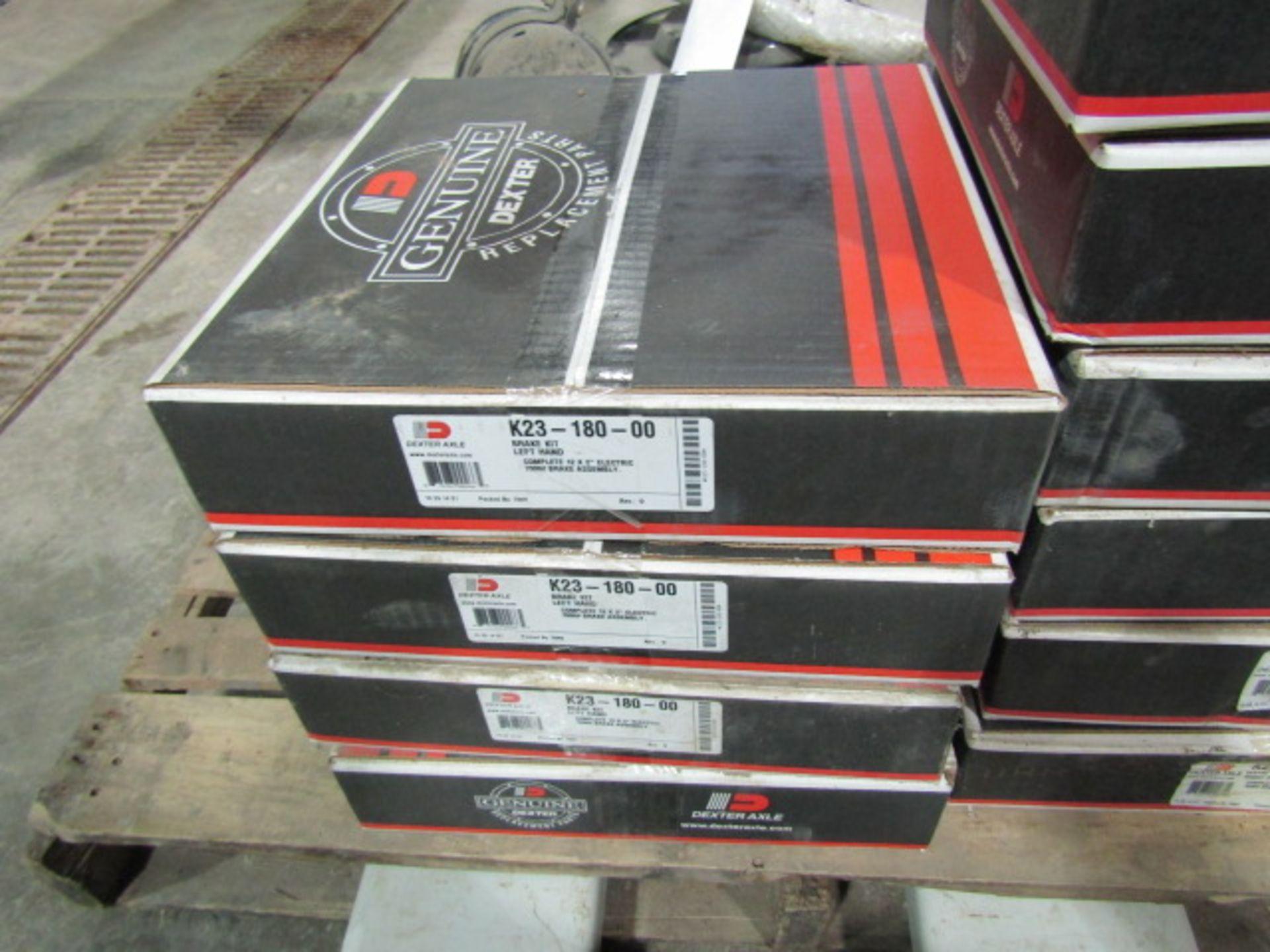 Lot 304 - (11) New Dexter Axle Brake Kit, 7000# Brake Assembly K23-181-00, Located in Winterset, IA