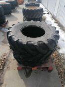 (2) Solideal 21L-24IND SLAR4 Tire