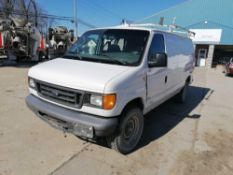 2006 Ford Econoline E250 Utility Van