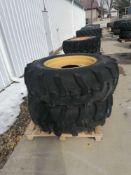"(2) Titan 16.9-28 Tire & 11 "" with 5 Bolt Pattern Rim"