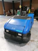 2002 American Lincoln Technology Rider Floor Sweeper, 678 Hours, Serial #630730, Model 576-506,