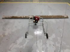 12' Screedboard with Honda Stroke 4, Manufactured by Allen Engineering Corporation. Located in Mt.