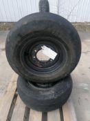 (2) Galaxy 11L-16SL F-3 Tire & Rim
