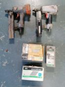 """(2) Paslode utility Stapler model S200 s16 & (3) Boxes of 2"""" Angled Finish Nails"""