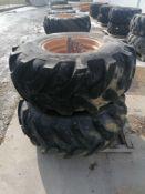 """(2) Galaxy 21L-24 Tire & 11 """" with 10 Bolt Pattern Rim"""