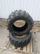 """(2) Xtra-Wall 12-16.5 Tire & (1) 8 3/4 """" with 8 Bolt Pattern Rim."""