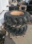 "(2) Goodyear 19.5L-24 Tire & 11 "" with 10 Bolt Pattern Rim"