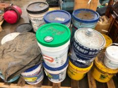 Pallet of Miscellaneous Buckets