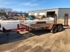 2004 Redi Haul Trailer with Ramps