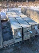 """(11) 12"""" x 9' Symons Silver Aluminum Concrete Forms"""