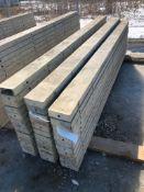 """(11) 6"""" x 9' Symons Silver Aluminum Concrete Forms"""