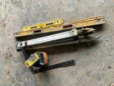 Levels, Tri Pod & Laser Plane 350 Parts