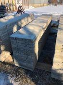"""(15) 20"""" x 9' Symons Silver Aluminum Concrete Forms"""