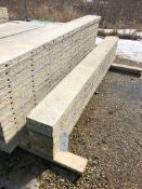 """(8) 10"""" x 9' Symons Silver Aluminum Concrete Forms"""