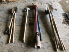 Shovels, Post Hole Diggers, Spades