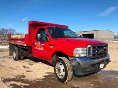 2004 Ford F-550 XL Super Duty Dump Truck