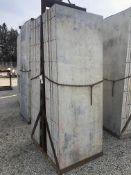 "(16) 36"" x 8' Symons Silver Aluminum Concrete Forms WITH BASKET"