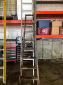 (1) Step Ladder & (1) Extension Ladder