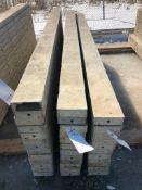 """(12) 6"""" x 9' Symons Silver Aluminum Concrete Forms"""