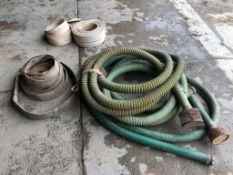 (3) Trash Pump Hoses