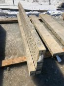 """(14) 4"""" x 9' Symons Silver Aluminum Concrete Forms"""