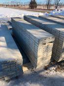 """(15) 16"""" x 9' Symons Silver Aluminum Concrete Forms"""