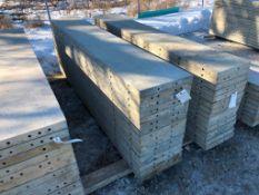 """(16) 18"""" x 9' Symons Silver Aluminum Concrete Forms"""