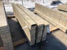 """(13) 6"""" x 9' Symons Silver Aluminum Concrete Forms"""