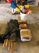 Pallet Wood Stakes, Paslode Nail Strips & Anchor Bolts