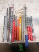 (14) New & Used Miscellaneous Size Drill Bits