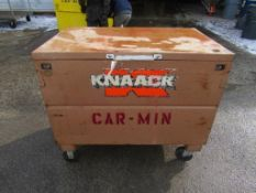 "4' x 3' 5"" Rolling Knaack Utility Box"