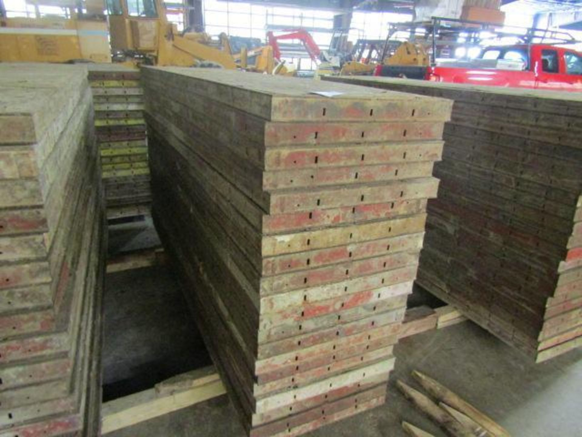 """Lot 155 - (20) 24"""" x 8' Symons Steel Ply Forms"""