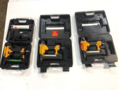 (3) Bostitch Magnesium SX1838 Nailer