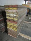 "(20) 18"" x 8' Symons Steel Ply Forms"