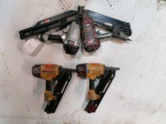 (4) Framing Nail Guns