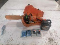 Stihl 025 Chain Saw, New Chains & Oil