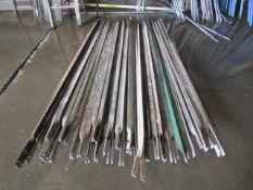 (34) 8' Side Braces for Scaffolding