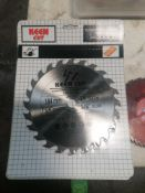 """(61) NEW Keen 24 Tooth 7 ¼"""" Carbide Blades"""