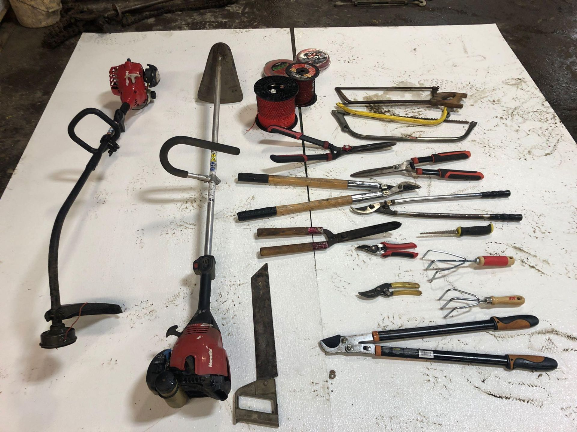 Lot 50 - Weed Eaters & Miscellaneous Tools