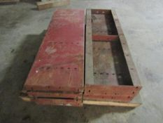 """(8) 16"""" x 4' Symons Steel Ply Forms"""