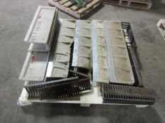 Pallet of Trench Drains