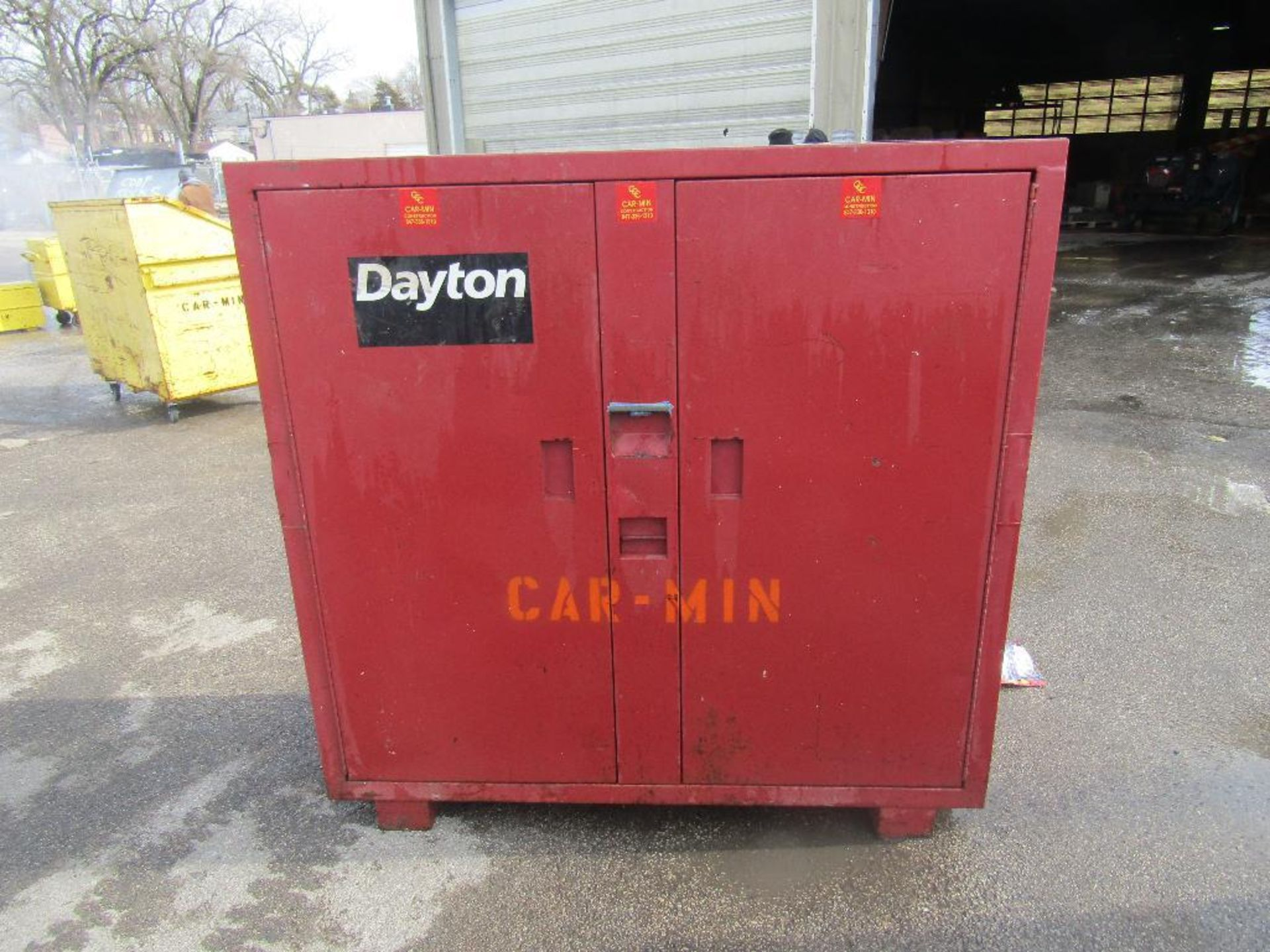 Lot 73 - 5' x 5' Dayton Chemical Cabinet