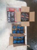 (18) NEW Pad Locks & (1) Box Chanteh Abrasive Cut-Off Wheel