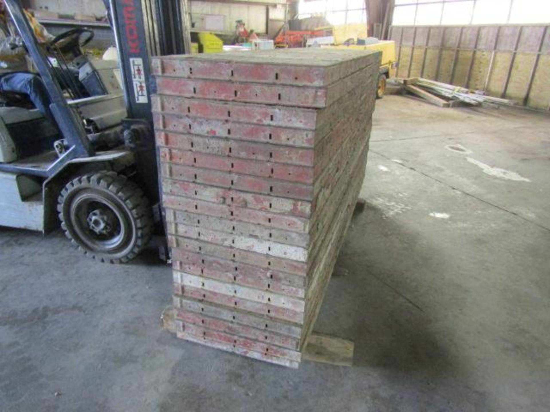 "Lot 157 - (20) 24"" x 8' Symons Steel Ply Forms"