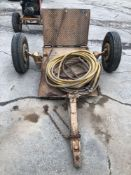 """Road Saw Trailer with (3) 3/4"""" Air Hoses"""