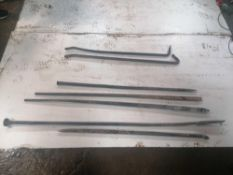 Assorted Crow Bars & Pully Bars