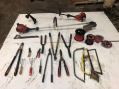 Weed Eaters & Miscellaneous Tools