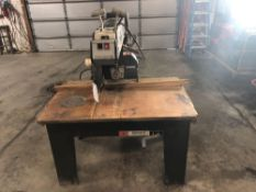 "Black & Decker T1831 14"" Radial Arm Saw"